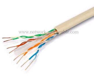 China El cable de Ethernet de la red Cat6 del Lan el 1000ft 550Mhz descubre la UL de cobre fábrica