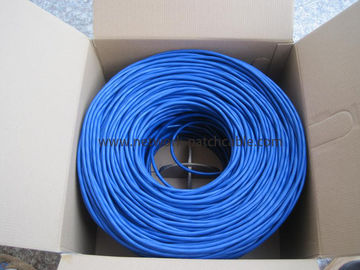 China Cable de Ethernet de la red del cable 24AWG del ordenador 4P LAN Cat5e UTP fábrica